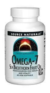 Source Naturals Omega-7 SeaBuckthorn Fruit Oil