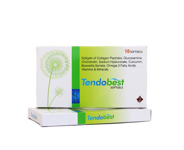 TENDOBEST Softgel Caps- A Supplement For Healthy Bone and Joint Strength (30 Capsules)